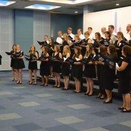 Akademicki Chór PŁ podczas występów w Macedonii