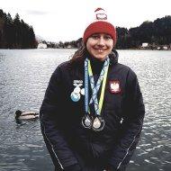 Aleksandra Bednarek studentka PŁ z medalami MŚ w Słowenii