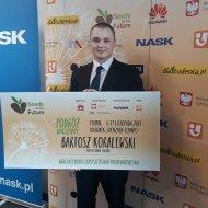 Bartosz Koralewski - student PŁ, tegoroczny laureat programu Huawei seed for future.