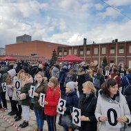 Bicie rekordu Guinnessa na Politechnice Łódzkiej zakończone foto. Jacek Szabela