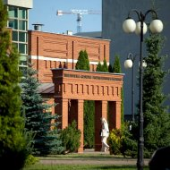 Budynek biblioteki PŁ. fot. Jacek Szabela