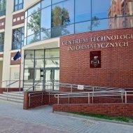 Budynek Centrum Technologii Informatycznych PŁ.
