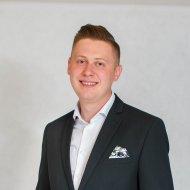 Dominik Leżański, student PŁ, wybrany na przewodniczącego Parlamentu Studentów RP (2019-2020), foto. Aleksandra Łuczyńska.