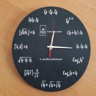 Gadżet PŁ - zegar nagrodzony w konkursie Perspektyw Genius Universitatis.Foto: Archiwum PŁ