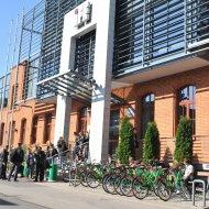 Budynek Centrum Kształcenia Międzynarodowego PŁ (IFE) fot. archiwum PŁ