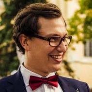 Jan Kurzawski, absolwent IFE PŁ.