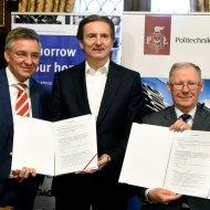 Firma BSH i Politechnika Łódzka podpisały umowę o współpracy