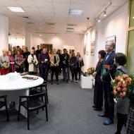 Jubileuszowa wystawa w Galerii Biblio-Art w PŁ. Fot. Jacek Szabela