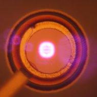 Laser VCSEL fot. Marcin Gębski