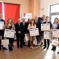 W ub. roku minister Gowin wręczył nagrody najlepszym studentom PŁ. Fot. Archiwum PŁ.