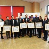 Minister Gowin wręczył stypendia najlepszym studentom PŁ. fot. Filip Podgórski