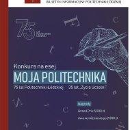 Okładka 150. numeru biuletynu Informacyjnego PŁ - Życie Uczelni