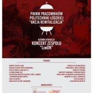 Plakat - Piknik Akcja Rewitalizacja