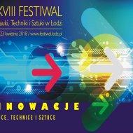 Plakat Festiwalu Nauki, Techniki i Sztuki_2018