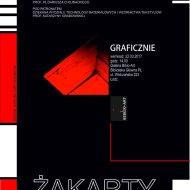 Plakat na wystawę Żakarty.