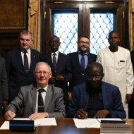 Podpisanie umowy o współpracy z uczelnią techniczną w Senegalu, fot. Jacek Szabela