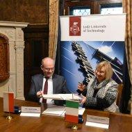 Podpisanie umowy o współpracy PŁ i Uniwersytetu we Florencji, fot. Jacek Szabela