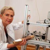 Prof. Katarzyna Grabowska z PŁ, foto. Jacek Szabela