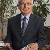 Prof. Stanisław Bielecki, rektor Pł w latach 2008-2016.