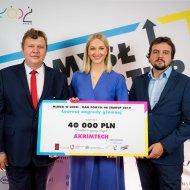 Startup AkrimTech z PŁ zwycięzca 10. konkursu Młodzi w Łodzi - Mam pomysł na biznes  fot. Łukasz Ławreszuk