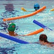 Zabawy w wodzie w Zatoce Sportu PŁ, foto. Archiwum PŁ