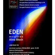 Zaproszenie na wernisaż na PŁ - dr Aliny Bloch