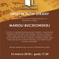 Zaproszenie do Przedionka  Literackiego na PŁ.