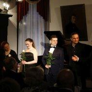 Michał Sztekmiler - fortepian, Wojciech Świętoński - fortepian, Marta Mika - mezzosopran, Sebastian Marszałowicz - bas, Julia Laskowska - fortepian