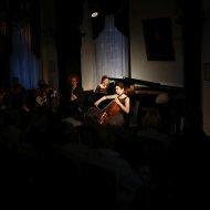 Karolina Szczechowicz - wiolonczela, Dominik Domińczak - klarnet, Maria Orzeł - fortepian