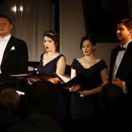 Aleksandra Borkiewicz - sopran, Małgorzata Pietrzykowska - mezzosopran, Arkadiusz Anyszka - baryton, Dariusz Kwiatkowski – tenor, Julia Laskowska - fortepian