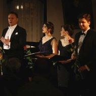 Aleksandra Borkiewicz – sopran, Małgorzata Pietrzykowska – mezzosopran, Dariusz Kwiatkowski – tenor, Arkadiusz Anyszka - baryton, Julia Laskowska - fortepian