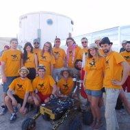Zespół RAptors w USA na zawodach łazików marsjańskich University Rover Challenge. Fot. Archiwum PŁ