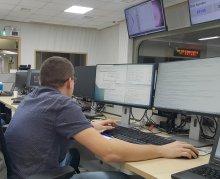 P. Perek w czasie testów w ośrodku KSTAR w listopadzie 2019