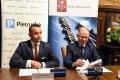 podpisanie umowy PŁ z Grupą Pietrucha