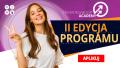 Baner promujący II edycję Programu Shesnnovation Academy