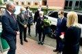 Ambasador Francji Frederic Billet z wizytą w PŁ