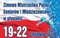 Plakat Mistrzostw Polski w pływaniu na PŁ.