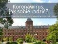 Strona tytułowa broszury BON - koronawisrus - jak sobie radzić