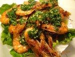Shrimp – professor K. Jóźwik's signature dish