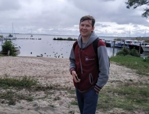 dr inż. Igor Zubrycki, laurat projektu LIDER z PŁ, fot. arch.prywatne