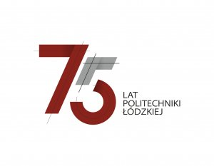 logo 75 lat PŁ