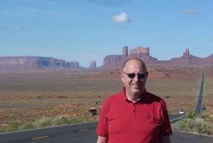 Prof. Piotr Kula w drodze do Monument Valley USA, fot. arch.prywatne