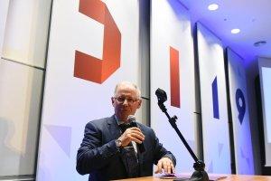prof. Sławomir Wiak, rektor PŁ, podczas otwarcia ŁDI, fot. Jacek Szabela