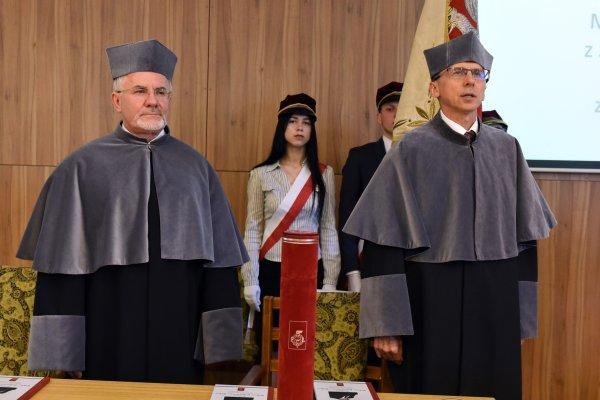 Profesor Wiktor Robertowicz Weber doktorem honoris causa PŁ