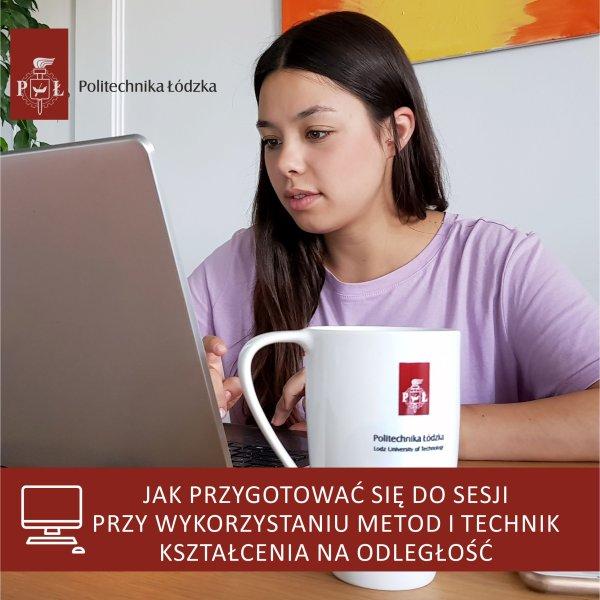 broszura z informacjami dot. zdalnej sesji na PŁ