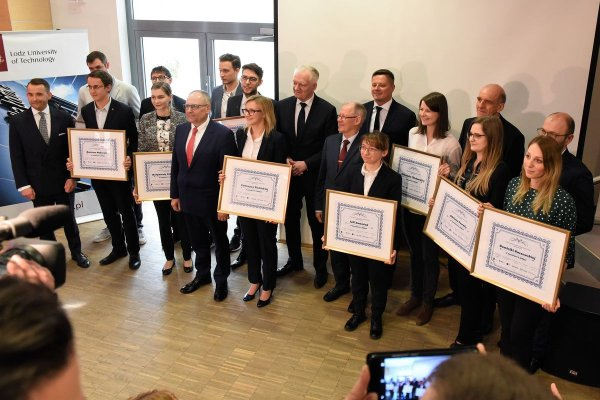 Laureaci 7. edycji Konkursu Fundacji PŁ na najzdolniejszych studentów, Foto. Filip Podgórski