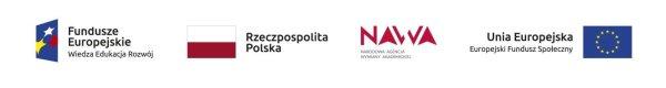 4 loga: Funduszu Europejskiego, RP, NAWA orez  EFS  do projektu PROM
