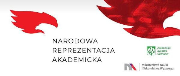 Logo projektu Narodowa Reprezentacja Akademicka, źródło - gov.pl
