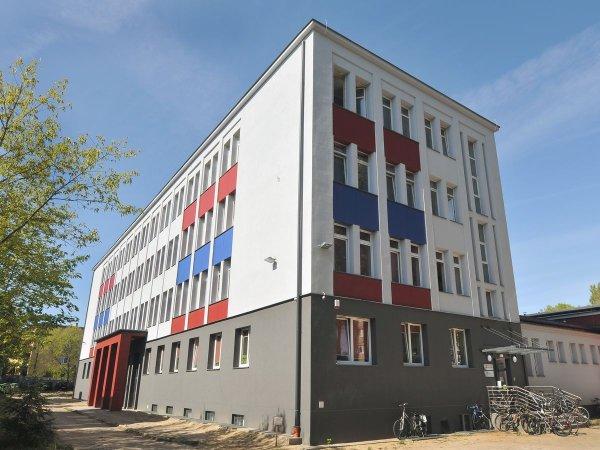 Nowy budynek Zespołu Szkół PŁ. Fot. Jacek Szabela