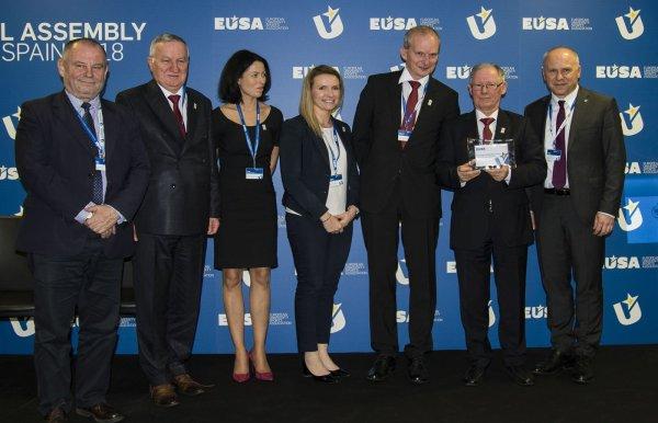 Polska delegacja w Madrycie uzyskała prawo do organizacji EUSA 2022 w Łodzi.